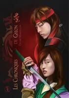 Couverture du livre « Les chroniques de Gyeon ; tempête de feu » de Celine Mancellon aux éditions Sharon Kena