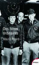 Couverture du livre « Des héros ordinaires » de Maurin Picard aux éditions Tempus/perrin
