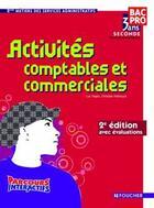 Couverture du livre « Activités comptables et commerciales » de Luc Fages aux éditions Foucher