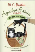 Couverture du livre « Agatha Raisin enquête t.2 ; remède de cheval » de M. C. Beaton aux éditions Albin Michel