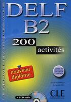 Couverture du livre « Nouveau delf b2 » de Bloomfield/Daill aux éditions Cle International