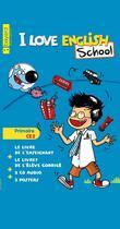Couverture du livre « I Love English School ; Anglais ; Ce2 ; Activity Book » de Sandrine Lemoult et Valerie Menneret aux éditions Bayard Presse