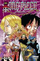 Couverture du livre « One Piece T.84 ; Luffy versus Sanji » de Eiichiro Oda aux éditions Glenat