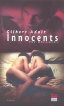 Couverture du livre « Innocents » de Gilbert Adair aux éditions Passage Du Marais