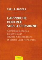 Couverture du livre « L'approche centrée sur la personne » de Carl Ransom Rogers aux éditions Ambre