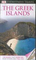 Couverture du livre « GREEK ISLANDS » de Collectif aux éditions Dorling Kindersley