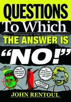 Couverture du livre « Questions to Which the Answer is