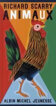 Couverture du livre « Animaux » de Richard Scarry aux éditions Albin Michel Jeunesse