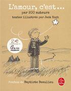 Couverture du livre « L'amour, c'est » de Collectif et Jack Koch aux éditions Lgf