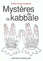 Couverture du livre « Les Mysteres De La Kabbale » de Marc-Alain Ouaknin aux éditions Assouline