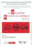 Couverture du livre « Le deuxieme homme en afrique » de Collectif aux éditions Errance