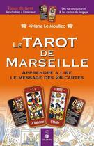 Couverture du livre « Tarot de Marseille » de Viviane aux éditions Dauphin