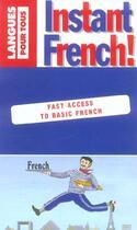 Couverture du livre « Instant French ! » de Steve Craig et Jean-Michel Ravier aux éditions Pocket