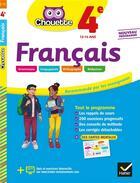Couverture du livre « Chouette entrainement - 15 - francais 4e - cahier d'entrainement et de revision » de Sandrine Girard aux éditions Hatier