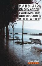 Couverture du livre « L'automne du commissaire Ricciardi » de Maurizio De Giovanni aux éditions Rivages