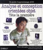 Couverture du livre « Analyse et conception orientées objet ; tête la première » de Mc-Laughlin aux éditions O Reilly France