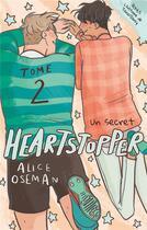 Couverture du livre « Heartstopper T.2 ; un secret » de Alice Oseman aux éditions Hachette Romans