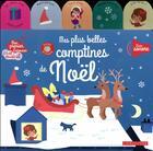 Couverture du livre « Mes plus belles comptines de noel » de Gaelle Souppart aux éditions Larousse