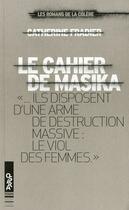 Couverture du livre « Le cahier de Masika » de Catherine Fradier aux éditions Oslo