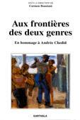 Couverture du livre « Aux frontieres des deux genres. en hommage a andree chedid » de Carmen Boustani aux éditions Karthala