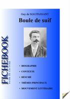 Couverture du livre « Boule de suif ; fiche de lecture » de Guy de Maupassant aux éditions Editions Du Cenacle