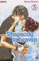 Couverture du livre « Rhapsody in heaven t.3 » de Minami-K aux éditions Panini