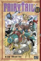 Couverture du livre « Fairy tail t.11 » de Hiro Mashima aux éditions Pika