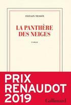 Couverture du livre « La panthère des neiges » de Sylvain Tesson aux éditions Gallimard
