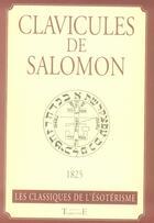 Couverture du livre « Clavicules de Salomon » de Collectif aux éditions Trajectoire