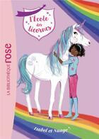 Couverture du livre « L'école des licornes T.4 ; Isabel et Nuage » de Julie Sykes aux éditions Hachette Jeunesse