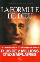 Couverture du livre « La formule de Dieu » de Jose Rodrigues Dos Santos aux éditions Hc Editions