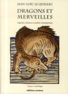 Couverture du livre « Dragons et merveilles » de Jean-Loic Le Quellec aux éditions Errance
