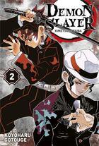 Couverture du livre « Demon slayer T.2 » de Koyoharu Gotoge aux éditions Panini