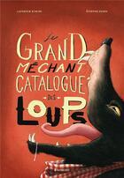 Couverture du livre « Le grand méchant catalogue des loups » de Etienne Friess et Laurence Kubler aux éditions Margot