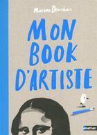 Couverture du livre « Mon book d'artiste » de Marion Deuchars aux éditions Nathan
