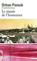 Couverture du livre « Le musée de l'innocence » de Orhan Pamuk aux éditions Gallimard