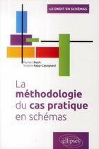 Couverture du livre « La méthodologie du cas pratique en schémas » de Virginie Rapp-Cassigneul et Myriam Bezin aux éditions Ellipses