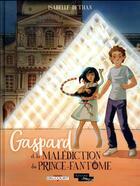 Couverture du livre « Gaspard et la malédiction du Prince-Fantôme » de Isabelle Dethan aux éditions Delcourt