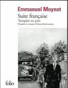 Couverture du livre « Suite française ; tempête en juin » de Irene Nemirovsky et Emmanuel Moynot aux éditions Gallimard