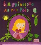 Couverture du livre « La princesse au petit pois » de Virginie Graire et Marie Delhoste aux éditions Thomas Jeunesse