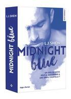 Couverture du livre « Midnight blue » de L. J. Shen aux éditions Hugo Roman