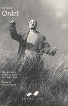 Couverture du livre « Ordet » de Munk aux éditions Esprit Ouvert