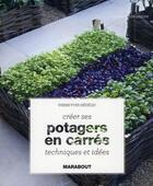 Couverture du livre « Potagers en carrés » de Pierre-Yves Nedelec aux éditions Marabout