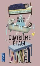 Couverture du livre « Quatrième étage » de Nicolas Ancion aux éditions Pocket