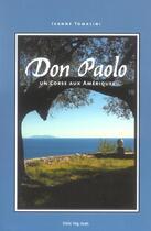 Couverture du livre « Don Paolo Un Corse Aux Ameriques » de Jeanne Tomasini aux éditions Lbm