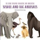 Couverture du livre « Mes premiers mots en anglais - animaux grands et petits » de Anna Lang aux éditions White Star Kids