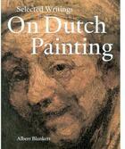 Couverture du livre « On dutch painting » de Blankert aux éditions Waanders