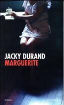 Couverture du livre « Marguerite » de Jacky Durand aux éditions Carnets Nord