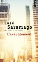 Couverture du livre « L'aveuglement » de Jose Saramago aux éditions Points