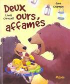 Couverture du livre « Deux ours affames » de Jane Chapman aux éditions Mijade